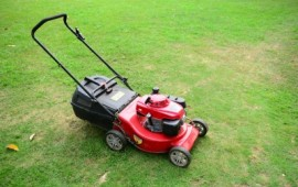 Lawn Mower for Creating Stripes