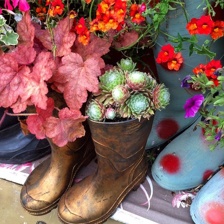 Wellington Planter Boots