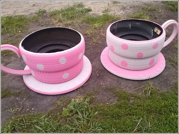 Tea Cup Tires