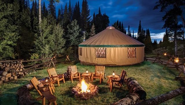 Yurt in Your Garden