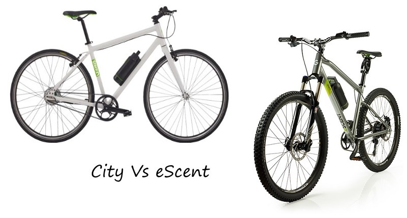 GTech City vs eScent eBike