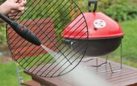 Vax pressure washer cleaning bbq