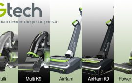 Compare GTech Vacuum Cleaners