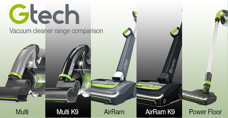 The Gtech Cordless Vacuum Cleaner Range Compared Garden
