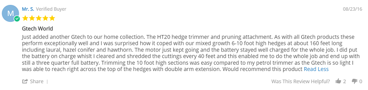 GTech Ht20 Review