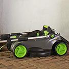 Lightweight & Compact GTech Mower