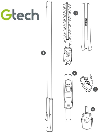 GTech HT20 Box Contents