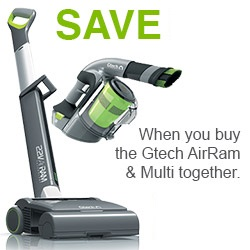 GTech AirRam and Multi Package Deal