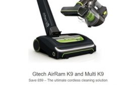 GTech AirRam K9 + Multi K9 Package Deal Offer