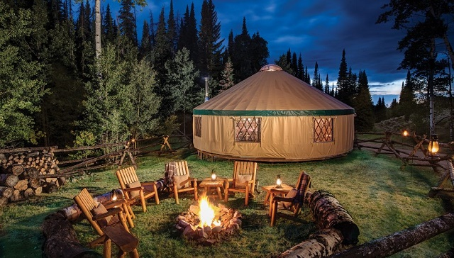 Yurt in Your Garden