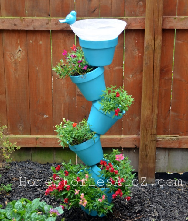 Quirky Bird Baths