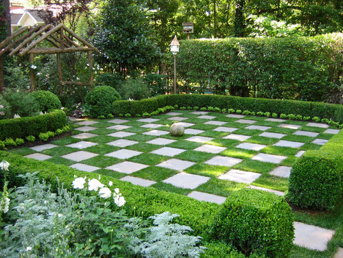 Grass Chess Board
