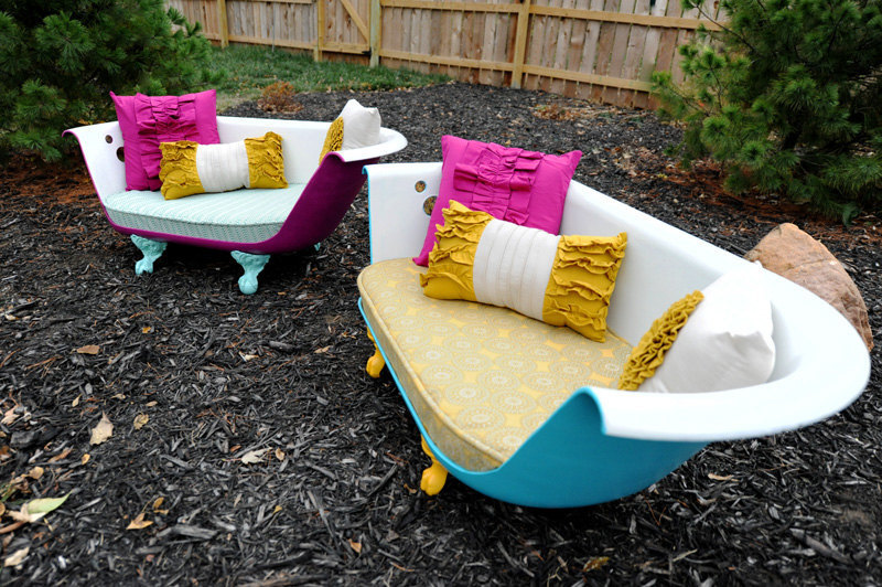 33 quintessentially quirky garden ideas that will amaze you for Gardening tools gumtree