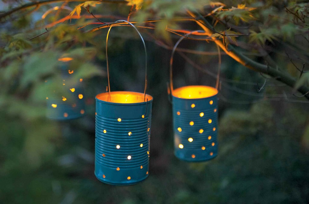 Home Made Garden Lanterns