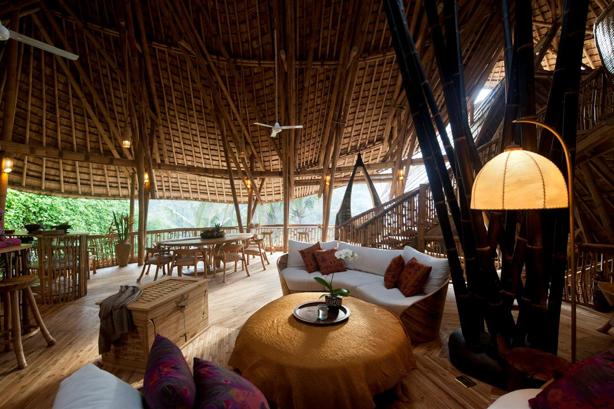 Inside a Bamboo Home
