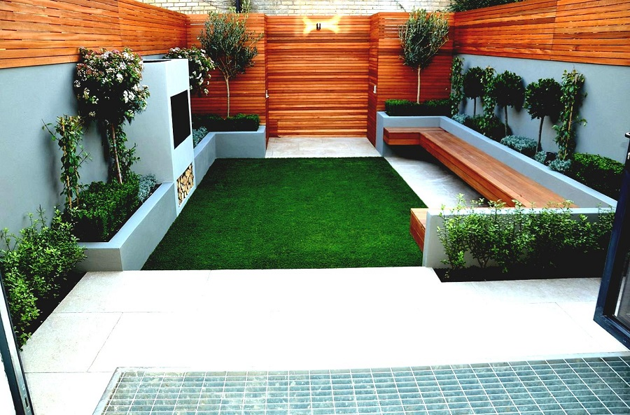 Small Garden Design Example