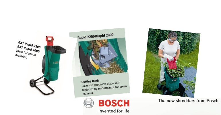 bosch axt rapid 2200 garden shredder essential buyers info review. Black Bedroom Furniture Sets. Home Design Ideas