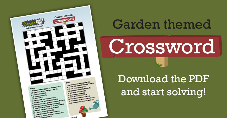A Challenging Garden Themed Crossword Garden Power Tools