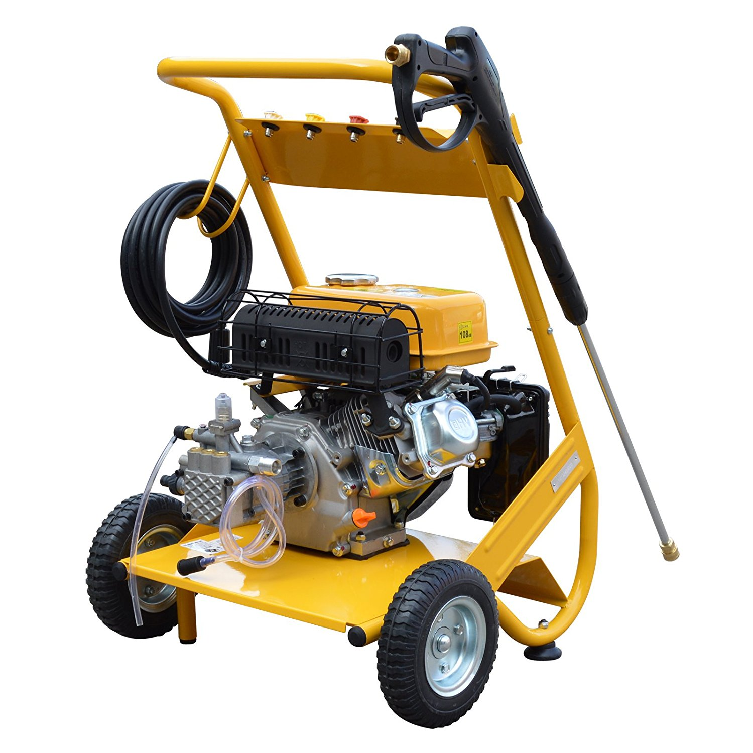 Wolf 200 psi Petrol Pressure Washer Review