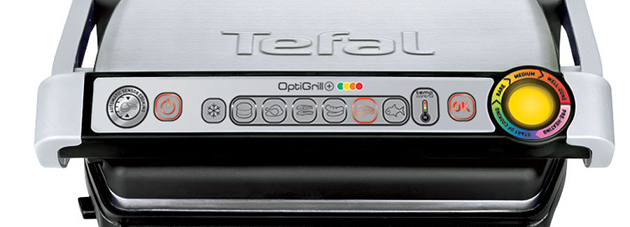tefal optigrill keeps going to manual