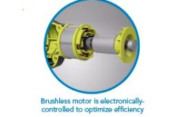 Ryobi Drill Brushless Motor