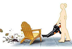 Worx Leaf Blower Ease of Use