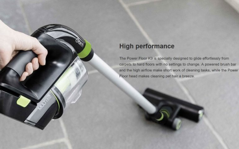 The NEW GTech Power Floor K9 Vacuum (Reviewed