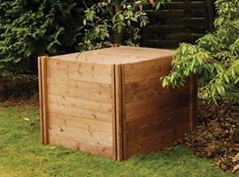 Small Garden Wooden Compost Bin Review