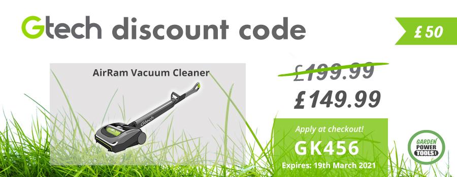 GTech AirRam Discount Code