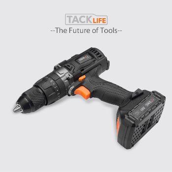 Tacklife 18V Cordless Drill Set