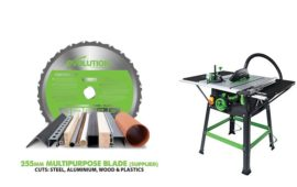 Evolution Fury 5 table saw review