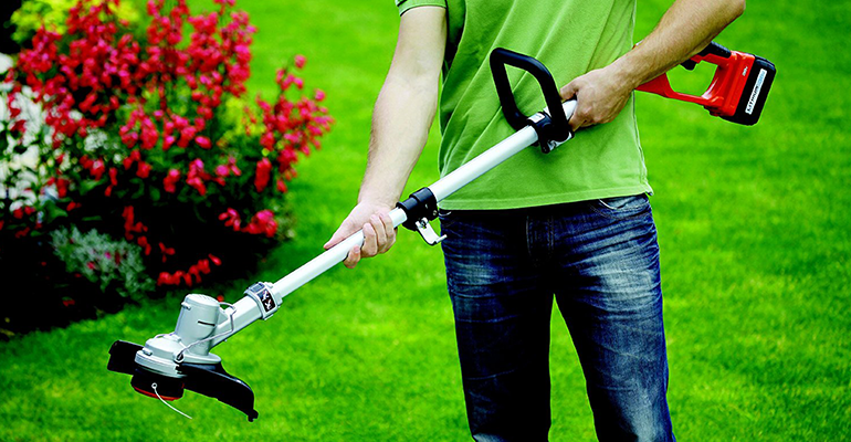 Best cordless strimmer Black and Decker