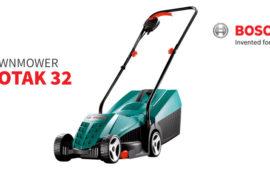 Rotak 32 lawnmower by Bosch