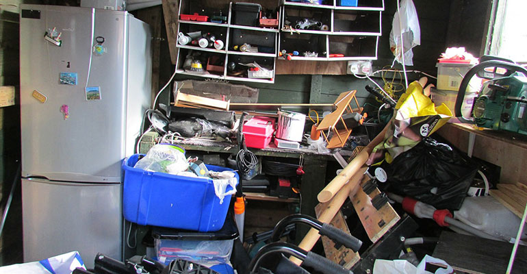 declutter and organize your tools