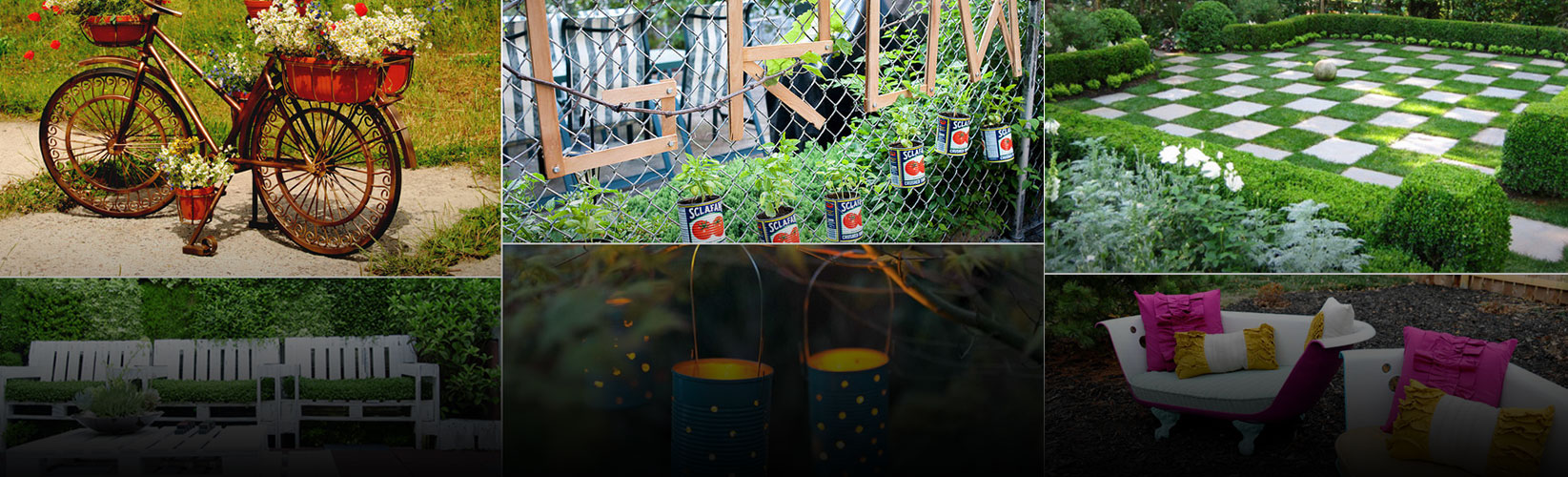 33 Quirky Garden Ideas