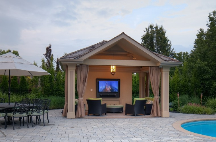 Watch TV in your Gazebo