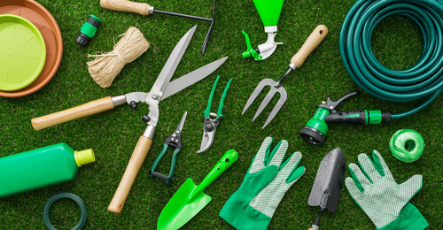 Range of Gardening Tools