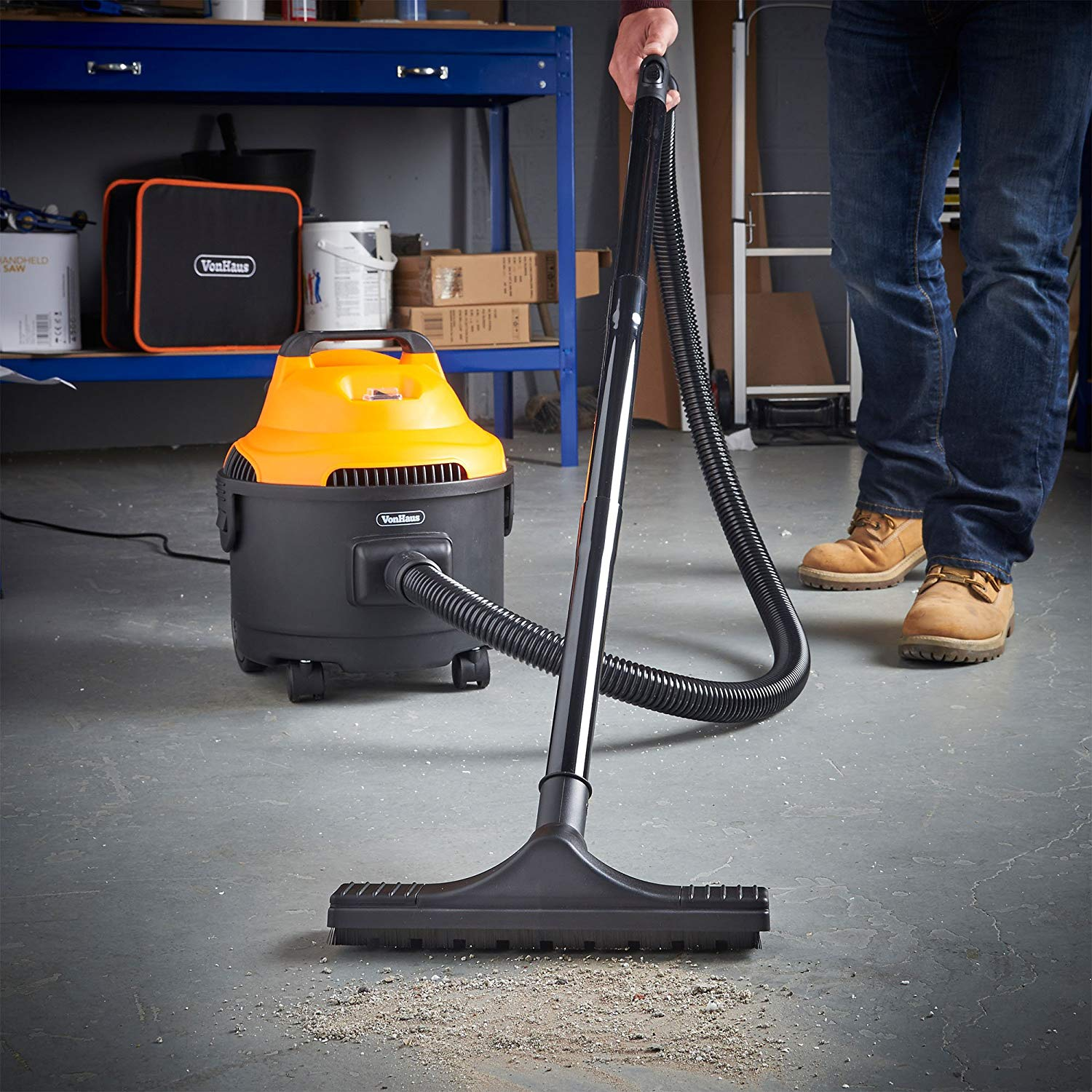 VonHaus 3 in 1 Wet and Dry Bagless Vacuum Cleaner