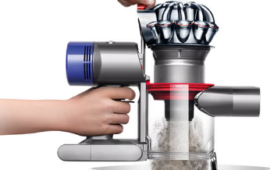 Dyson V8 Animal Bin Emptying