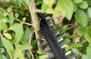 Anti Blocking System on the AHS 50-20 Cordless Hedge Trimmer