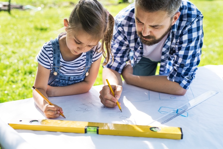 Plan The Garden With Your Child