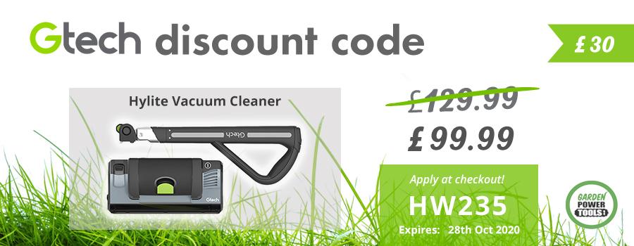 GTech Hylite Discount Code