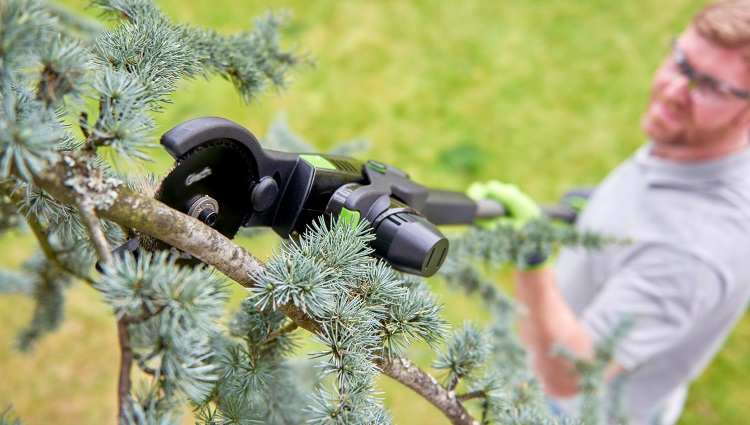 Cordless Hedge Trimmer Branch Cutting Attachment
