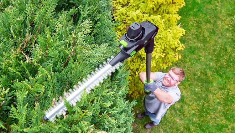 Long Reach Garden Hedge Trimmer