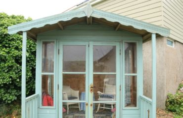 Add additional seating in your summer house