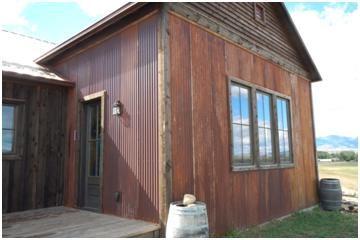 Clean metal shed