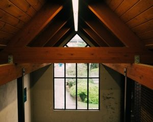 High ceiling loft conversion