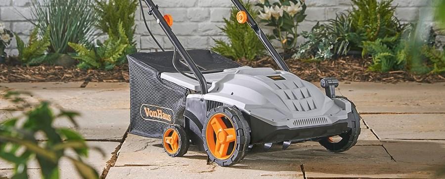 VonHaus 1500W Lawn Scarifier