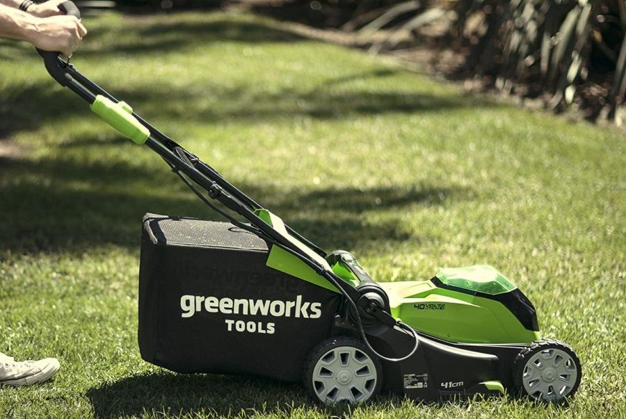 Greenworks G40LM41 40V Lawn Mower Review