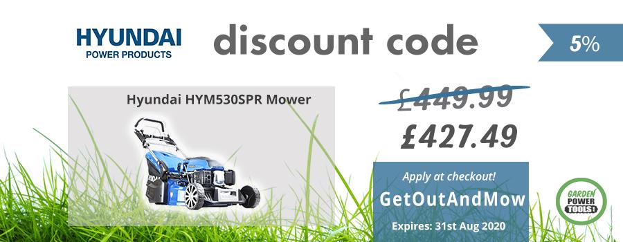 Hyundai 530SPR Discount Code